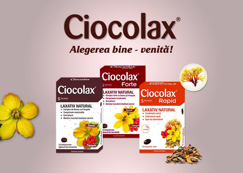 Ciocolax - comunicat