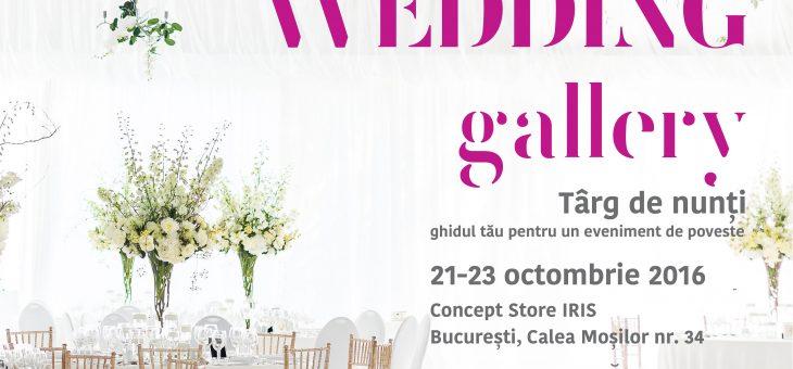 Tendințele anului 2017 pentru o nuntă de vis la The Wedding Gallery, în Concept Store IRIS